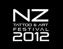 NZ Tattoo & Art Festival Poster (School Project)