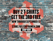 Fueled By Ramen T-shirt Promo