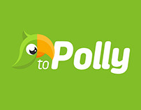 toPolly logo and branding