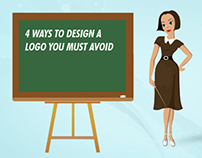 4 Ways to Design a Logo You Must Avoid