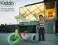 Kiddo tricycle