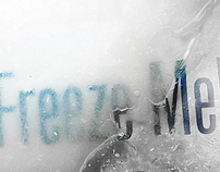 Typography in Ice