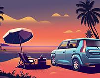 Drive scapes - Suzuki