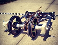 Lawnmower GT: Formula E Rubberband Racer
