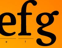 Typeface: Rutger Serif