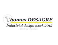 DESIGN WORK 2012