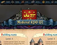 Medeival RPG UI