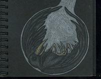 Black Paper Sketchbook '04