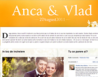 Anca & Vlad's wedding