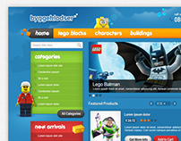 eCommerce Website for Lego Selling Website
