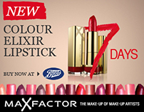 Maxfactor Animated Banners