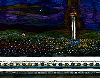 panorama Series Kyoto Station~night~