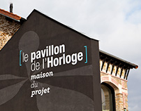 Le pavillon de l'horloge (maison du projet)