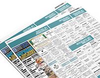 Banner and Class Title Newpaper Design