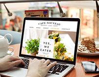 Cafe Nouveau Web ReDesign