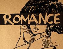 Projeto gráfico Romance