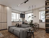 DE&DE/Modern apartment in Moscow