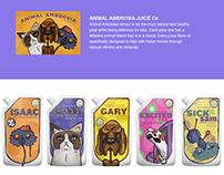 Animal Ambrosia Juice Boxes