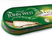John West packaging