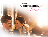 Initiative-Samsung Galaxy Note 5 Pink Launch