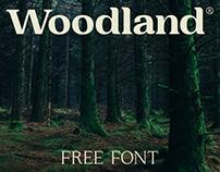 Woodland - Free Serif Font