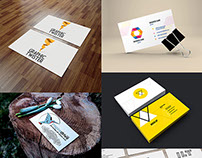 24 Free HQ PSD Business Card Mockups – January 2015