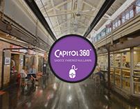 Capitol Alışveriş Merkezi konsept web sitesi