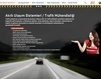 ISBAK Trafik Konsept Web Sitesi