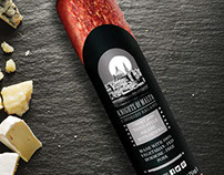 Package and Logo Design: Knights of Malta Salami