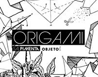 Origami . Sal . Pimenta