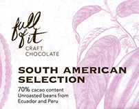 Full Of It, craft chocolate - branding & packaging