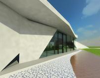 Casa en la llanura pampeana
