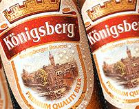 «Konigsberg» beer - redesign.