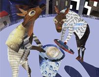 Theatre poster // כרזת תאטרון