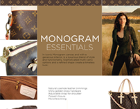 Monogram Spread for Typebook