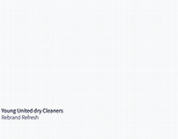 Young United Dry Cleaners Rebrand Refresh