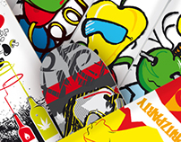 Spritzparty Skateboards - serie