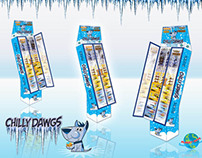CHILLY DAWGS FREEZER POP DISPLAY