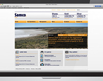 Samco Gold corporate website
