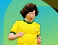 Zico, camisa 10 da Gávea