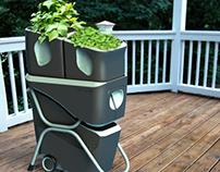 Terrace - Gardening System