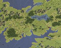 3d fantasy map