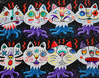 Cat Heads in Space |  2011