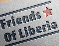 Friends of Liberia Branding and Website Redesign