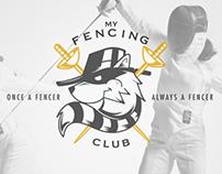 MyFencing Club - Logo Design