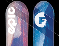 Folsom Ski Graphic