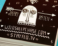 Sheep Chase Stickers