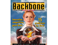 Backbone magazine: Business/lifestyle/tech publication
