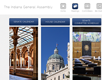 Indiana Statehouse Paperless iPad Application Design