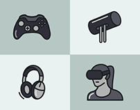 Oculus Glyph Icons